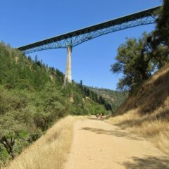 A Fun Hike Under the Foresthill Bridge to Lake Clementine