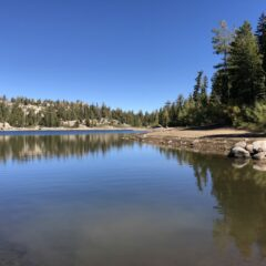 Just perfect silence – Fall in the Sierra