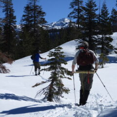 Winter Trek on the Orion Trail at Loon Lake