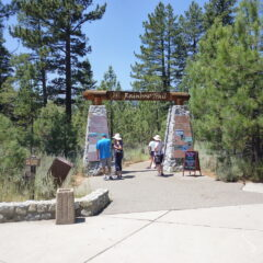 The Rainbow Trail and Taylor Creek Visitor Center