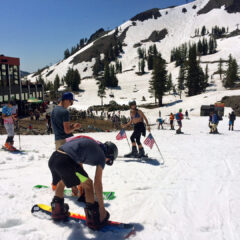 Fourth of July Skiing