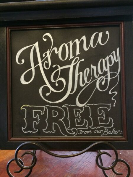 aroma therapy sign